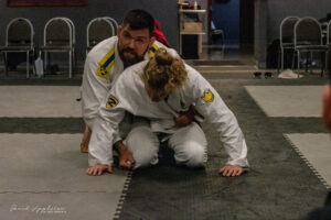 Photo of a Trainer Instructing Position Form