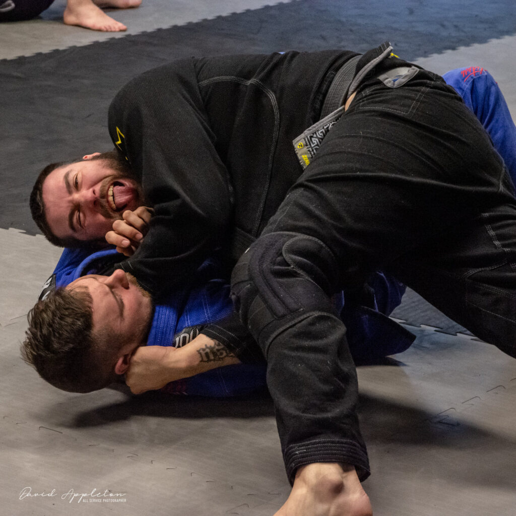Photo of Two Trainers Sparring