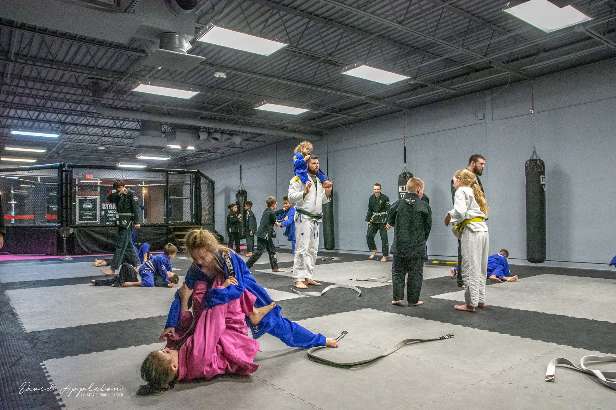 Group of Kids Training