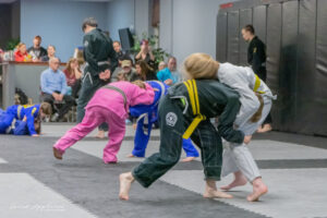 Photo of Two Kids Sparring