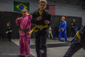 Kids at Practice